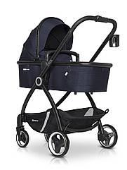 Детская коляска универсальная 2 в 1 Euro-Cart Crox Cosmic blue (Евро-Карт Крокс, Польша)