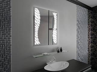 "Зеркало LED (60*80*3см) ""ZEBRE"" PR-D12"