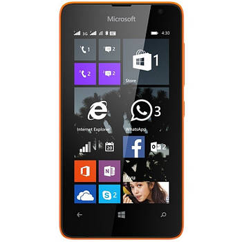 Microsoft Lumia 430 Dual Sim 1/8GB Orange Grade C