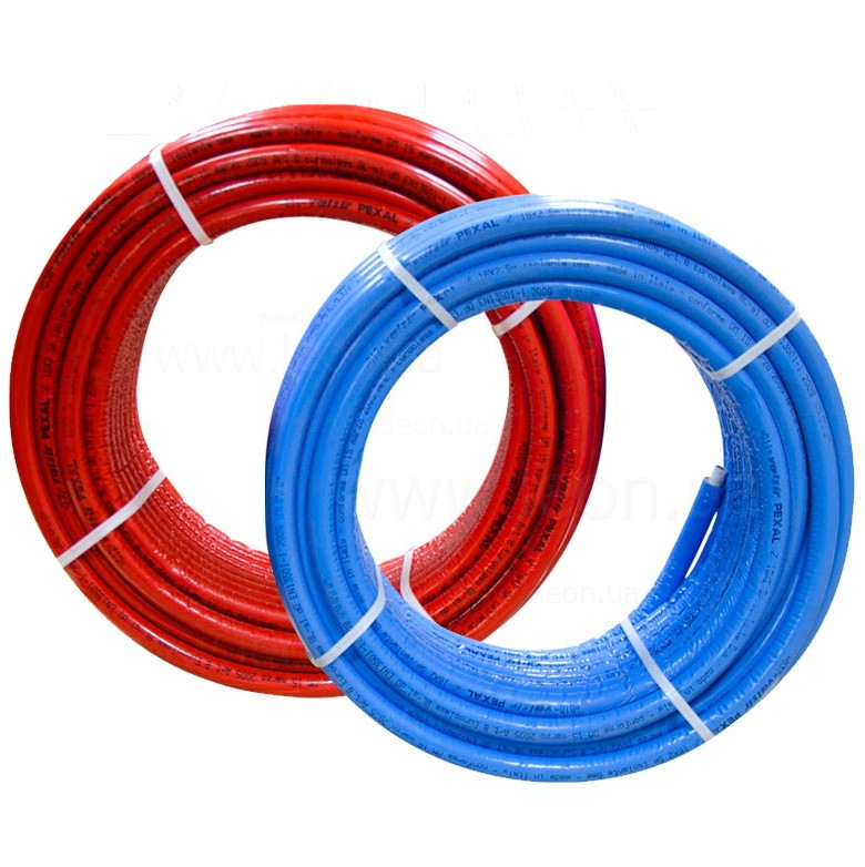 Труба в изоляции VALSIR Pexal® 16(2,0) красная