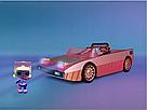 Машина купе кабриолет с куклой и с бассейном 3 в 1 L.O.L. Surprise Оригинал Car-Pool Coupe MGA, фото 4