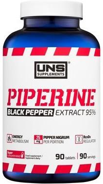 Блокатор жиров UNS - Piperine Extract 95% (90 таблеток)