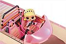 Машина купе кабриолет с куклой и с бассейном 3 в 1 L.O.L. Surprise Оригинал Car-Pool Coupe MGA, фото 6