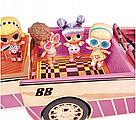Машина купе кабриолет с куклой и с бассейном 3 в 1 L.O.L. Surprise Оригинал Car-Pool Coupe MGA, фото 9