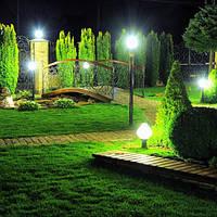 Сонячне паркове освітлення
