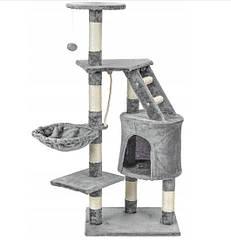 Когтеточка будиночок для кішок сіра Польща