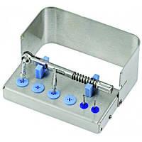 Подставка для имплантов N1 для 6 инструментов и 1 динамометрического ключа, 500401