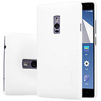 Чехол Nillkin для OnePlus 2 белый (+плёнка)