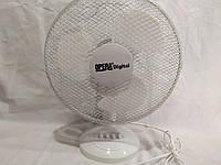 Настольный бесшумный вентилятор Table Fan 0312 Opera Digital 3 скорости 12 дюймов