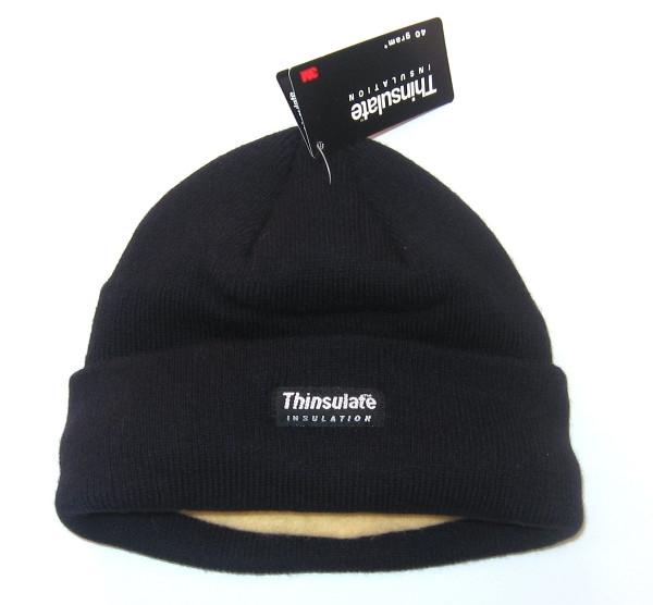 Тёплая акриловая шапка, утеплитель Thinsulate MilTec Black 12131002