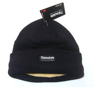 Тёплая акриловая шапка, утеплитель Thinsulate MilTec Black 12131002 , фото 2