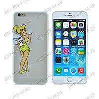 """Чехол на iPhone 4/4s """"Фея Динь Tinker bell"""" Стильные панели для айфона Пластиковая задняя панель """"Tinkerbell"""""""