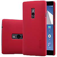 Чехол Nillkin для OnePlus 2 красный (+плёнка)