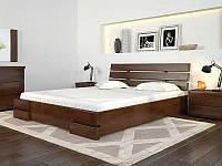 Кровать деревянная двуспальная с подъемным механизмом Дали Люкс