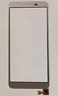 Оригинальный тачскрин / сенсор (сенсорное стекло) для S-TELL M630 (золотой цвет), фото 1