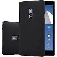 Чехол Nillkin для OnePlus 2 чёрный (+плёнка)