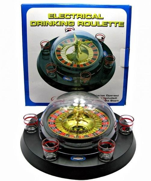 Рулетка электронная с набором рюмок