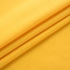 Трикотаж Футер двунитка. Желтый. Купить оптом в Украине, от рулона, фото 2