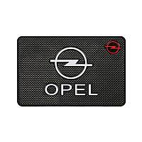Антискользящий коврик в машину на торпеду Opel