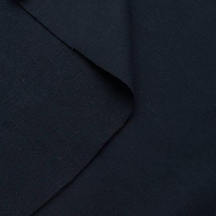 Трикотаж Футер двунитка. Темно синий. Купить оптом в Украине, от рулона, фото 2
