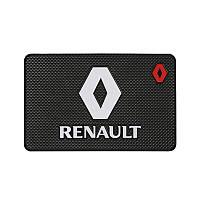 Антискользящий коврик в машину на торпеду Renault, фото 1