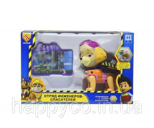 Детская игрушка Герои спасатели Скай , лапки и голова собачки подвижны