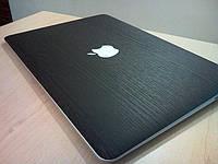 """Декоративная защитная пленка для ноутбука Macbook Air 13"""", дерево темное"""