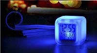"""Будильник - многофункциональные часы """"Хамелеон"""", с подсветкой Спанч Боб, фото 1"""