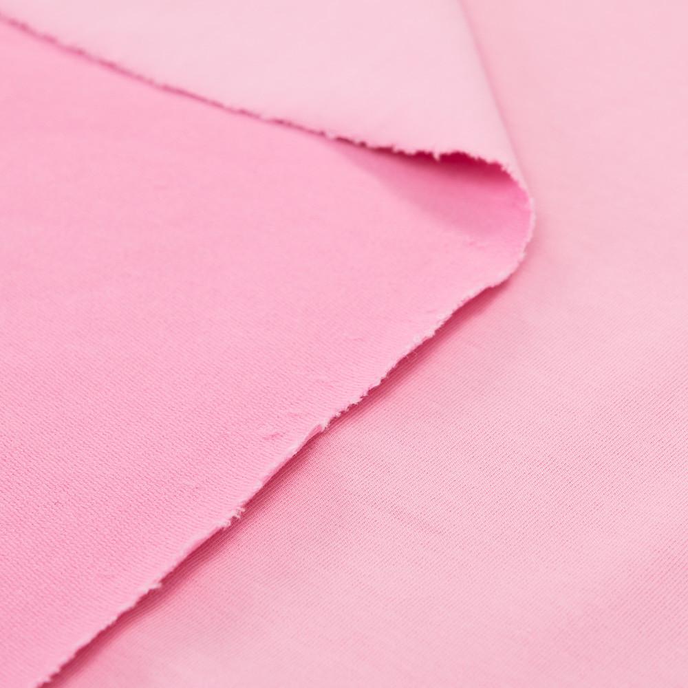 Трикотаж Футер двунитка. Розовый. Купить оптом в Украине, от рулона