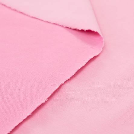 Трикотаж Футер двунитка. Розовый. Купить оптом в Украине, от рулона, фото 2