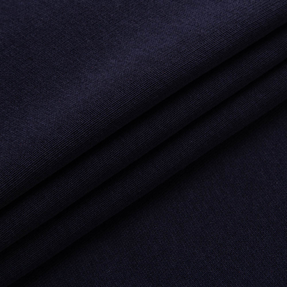 Футер трехнитка Penye на флисе, Темно Синий, с начесом, купить оптом, Украина