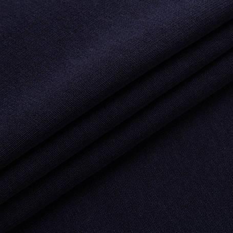 Футер трехнитка Penye на флисе, Темно Синий, с начесом, купить оптом, Украина, фото 2