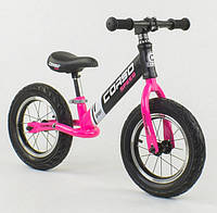 Беговел Corso Speed Sport 88621 Black / Pink (88621)