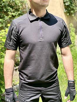 """Рубашка тактическая """"DEFENDER"""" BLACK"""