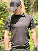 """Рубашка тактическая """"DEFENDER"""" BLACK, фото 2"""