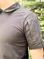 """Рубашка тактическая """"DEFENDER"""" BLACK, фото 7"""