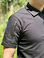 """Рубашка тактическая """"DEFENDER"""" BLACK, фото 6"""