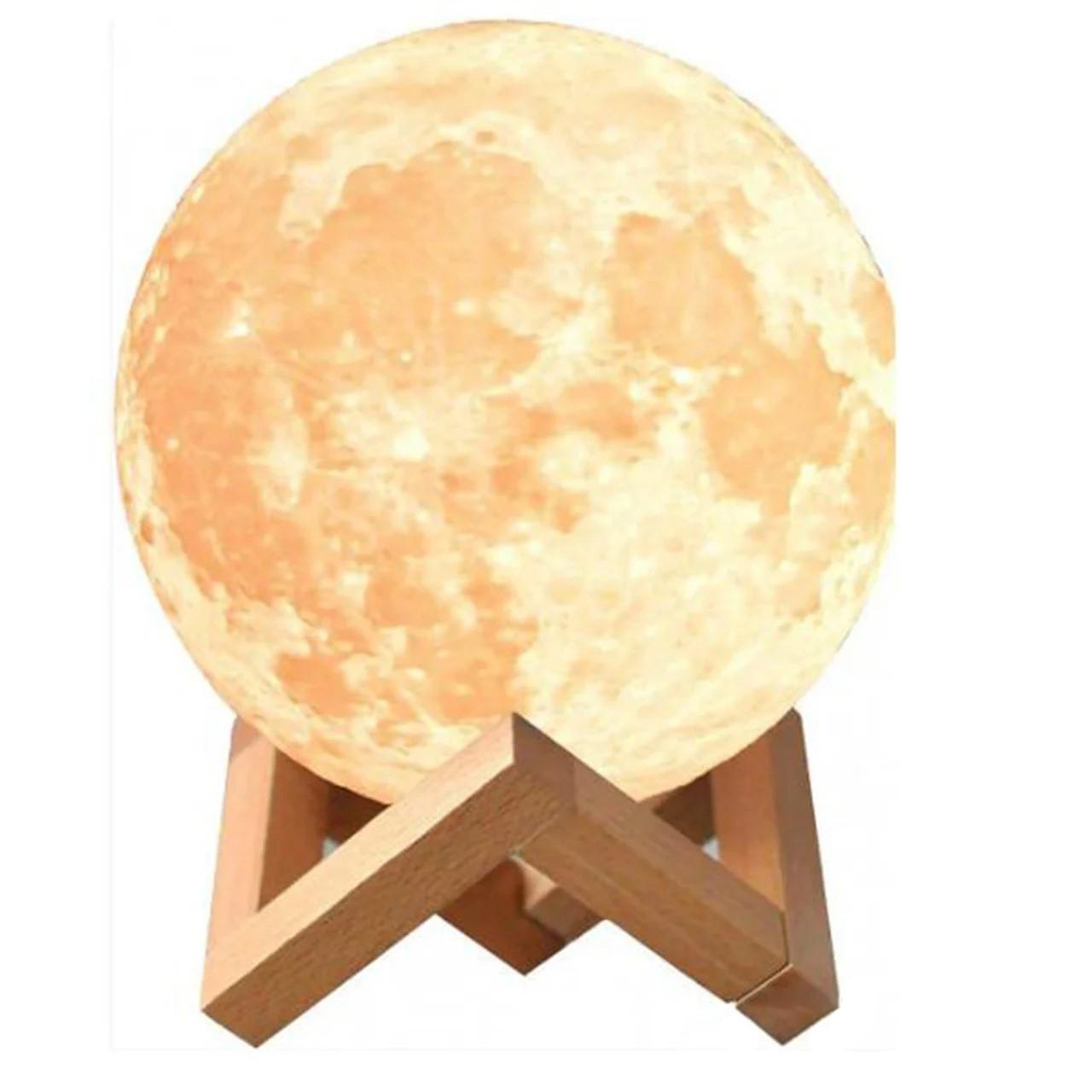 Ночник светильник настольный лампа Луна Moon lamp 13 см