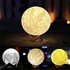 Ночник светильник настольный лампа Луна Moon lamp 13 см, фото 4