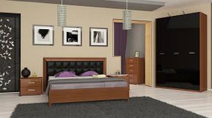 Спальня Флора Black от производителя МироМарк
