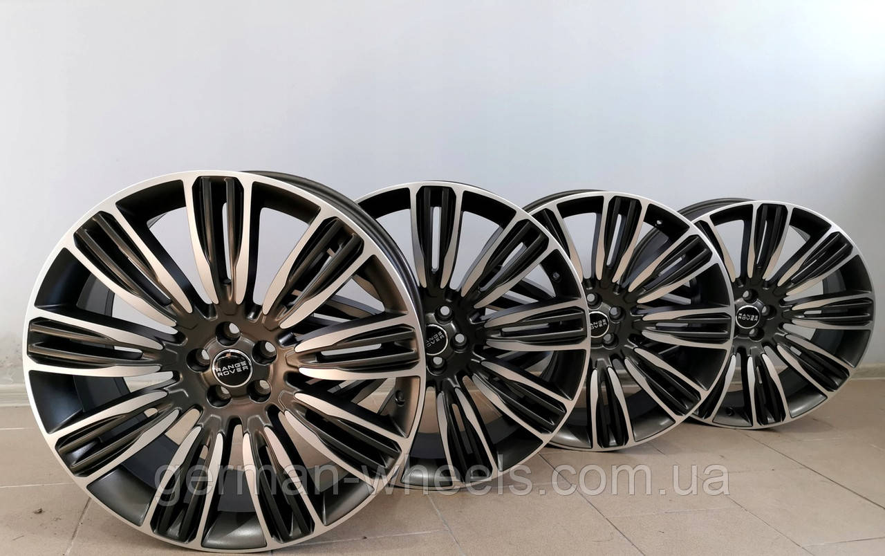 "22"" оригинальные колеса на Range Rover Velar  style 9007"