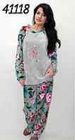Пижама женская махровая S M L XL