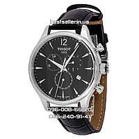 Часы TISSOT T-CLASSIC TRADITION CHRONOGRAPH 40mm Black/Silver. Replica AAA
