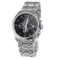 Часы TISSOT COUTURIER 43mm Black/Silver (Механика ETA). Replica: ААА., фото 1
