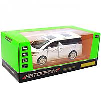 Машинка ігрова автопром «Toyota» метал, біла, 20 см, (світло, звук, двері відкриваються) 7684W, фото 2