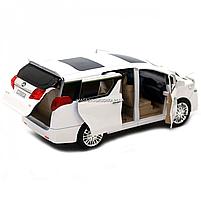 Машинка ігрова автопром «Toyota» метал, біла, 20 см, (світло, звук, двері відкриваються) 7684W, фото 9