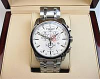 Годинник TISSOT Couturier Chronograph 42 mm Silver/White Replica: ААА.