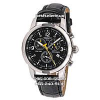 Годинник TISSOT T-SPORT PRC 200 CHRONOGRAPH 40mm Black/Silver. Replica AAA
