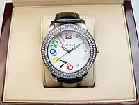 Часы Cartier Rainbow Dimonds 40mm Quartz. Реплика, фото 1
