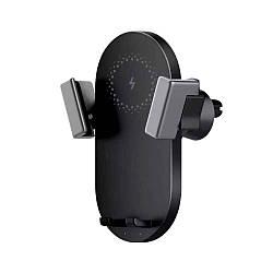 Автодержатель+ беспроводная зарядка ZMi Car Wireless Charger Black 20W (WCJ10)